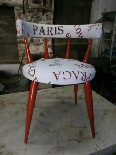 Chaises Fourrure